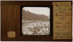 Henley Regatta 1895. Trin[ity] Hall beating Cornell. By Henry William Taunt, Oxford (whatsthatpicture) Tags: henley henleyregatta rowing oxforduniversity cornell cornelluniversity oxford whtaunt williamhenrytaunt 1895