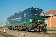 SBB CFF FFS - NOVARA BOSCHETTO (Giovanni Grasso 71) Tags: e191 vectron sbb cff ffs ell european locomotive leasing e193 siemens novara boschetto svizzera italia germania