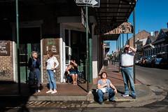 New Orleans, USA (Kristof Vande Velde) Tags: neworleans frenchquarter nola louisiana usa street candid fujixt2