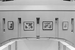(maiandtheskies) Tags: helsinki bw nikonfe2 film exhibition näyttely karhu juuso kallionkirjasto library kirjasto kallio