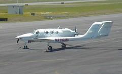Adam Aircraft Industries A500 N896MH (RARE Only 5 built) Skagit Regional Airport webcam capture (AirportWebcams.net) Tags: adam aircraft industries a500 n896mh rare only 5 built skagit regional airport webcam capture bvs kbvs
