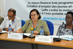 Conférence de presse conjointe PAM PNUD UNICEF Japon (pnud.burundi) Tags: pam pnud unicef japon