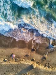 Olivia chilling at the beach. (Eric Zumstein) Tags: pointdume malibu california unitedstates us dji drone mavicpro beach ocean seascape aoi elitegalleryaoi bestcapturesaoi
