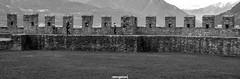 Mura (MarcoAgustoniPhotography) Tags: ticino schweiz switzerland d800 nikon bellinzona castel grande mura bianco e nero black white