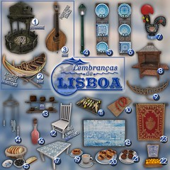 [Kres] Lembranças de Lisboa ([krescendo]) Tags: 6threpublic 6republic deco decorate portugal lisbon secondlife kres krescendo gacha