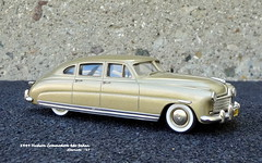 1949 Hudson Commodore 4dr Sedan (JCarnutz) Tags: 143scale diecast motorcityusa whitemetal 1949 hudson commodore