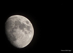 The moon (poppevanessaeddie) Tags: moon magnificent piece art space nature detailed