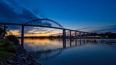 Night Photography (Bob Gilley) Tags: night photography chesapeakecity maryland
