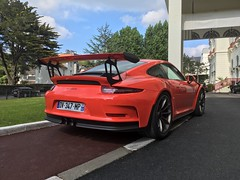 GT3 RS (Supercar La Baule) Tags: lhermitage barrière hermitage german porsche may mai france pornichet nantes atlantique loire 44 bretagne rare orange rs gt3 991 911 supercars supercar super car cars 2017 baule la