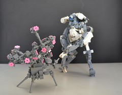 First Contact (Milo _Z) Tags: eyyy lmao bonsai alien first contact lego insect