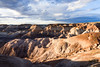 Painted Desert (bj.geske) Tags: desert painteddesert navajonation arizona colorful landscape nature clouds sunset blue red brown americansouthwest shadows badlands erosion siltstone mudstone shale stratified