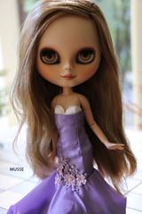 👗 (MUSSE2009) Tags: blythe doll custom toys erregirodolls lilac ashlette