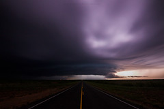 Crowell Supercell (Mike Olbinski Photography) Tags: 20170420 canon5dmarkiv crowell fa hail lightning nighttime rain roads supercells tamron1530f28 texas