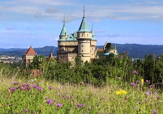 The fairy-tale Bojnický zámok Castle in Slovakia