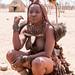 Himba woman near Opuwo
