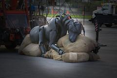 Les Géants (behemothmedia) Tags: montreal puppets marionette giant