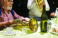 Colli (S. Hemiolia) Tags: cena banda corpobandisticodisantavittoria poviglio musica music amici friends band emilia ottoni tromba trumpet fiati vino bottiglia bottle lambrusco wine