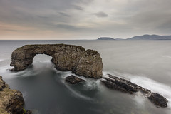 Great Pollet Sea Arch, Donegal, Ireland (MelvinNicholsonPhotography) Tags: greatpollet ireland seaarch water ocean longexposure dusk rocks seascapephotography gitzo manfrotto405 haidafilters leefilters landscapephotographyworkshops melvinnicholsonphotography