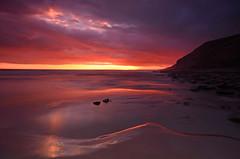 Southerndown Sunset (neath stan the man[on a break]) Tags: wfc nikon 1020sigma glamorganheritagecoast landscape seascape sun sea wales d7000 formatt pool cliffs light