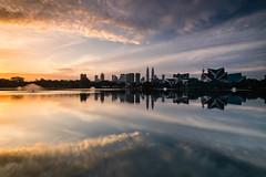 - Engulf - (Md Farhan's Gallery) Tags: kualalumpur tasiktitiwangsa malaysia sunrise morning nationalgeographic lensamalaya fujifilm xf1024mm xt1 klcc kltower cityscape city building reflection sky cloud