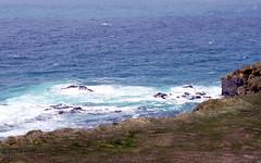 latrabjarg blue (kexi) Tags: iceland europe coast shore water ocean atlanticocean blue landscape paysage view canon may 2016 nature wild north latrabjarg white instantfave