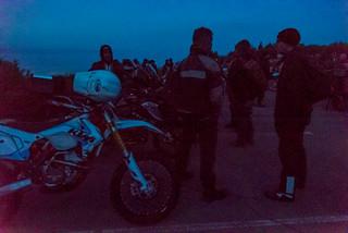Mt Tam Motorcycle Parking