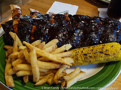 All you can eat ribs at Applebee's (www.iCandy.pw) Tags: allyoucaneatribs applebees doha qatar refills unlimited