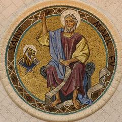 St Mark Mosaic (Lawrence OP) Tags: evangelist saints stmark apostle mosaic lion basilica nationalshrine elizabethannseton