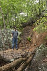 Landslide, Eric Scott, Suck Creek area, Prentice Cooper SF & WMA, Marion County, Tennessee (Chuck Sutherland) Tags: landslide ericscott suckcreekarea prenticecooper stateforest sf wildlifemanagementarea tdec twra marioncounty tennessee tn