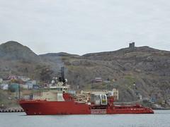 St. John's (Conradito) Tags: newfoundland stjohns osprey cabottower signalhill