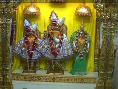 Radha Krishna Dev Sandhya Darshan on Sun 14 May 2017 (bhujmandir) Tags: radha krishna dev lord maharaj swaminarayan hari bhagvan bhagwan bhuj mandir temple daily darshan swami narayan sandhya