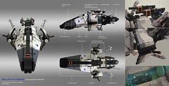 BLUE Phobos - data (xiei22) Tags: starfighter spaceship
