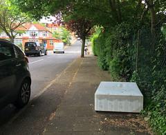 Littlegrove (jovike) Tags: abandoned barnet eastbarnet espe graphicconverter london street tree pavement traffic