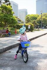2017-04-30-10h23m55-1 (LittleBunny Chiu) Tags: 皇居外苑 腳踏車 騎腳踏車 日本 東京 日本旅行 去日本旅行 東京台場 台場 人工沙灘 御台場海濱公園