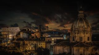 Rome Skyline II
