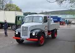 SXF 220: 1958 Fordson Thames ET6 dropside truck (chucklebuster) Tags: sxf220 fordson thames et6 dropside