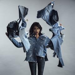 Denim Spirit (aminefassi) Tags: aminefassi casablanca denim fashion jeans mode sorayagmira 2017 morocco maroc basmabachyry esperantojeans paristexas