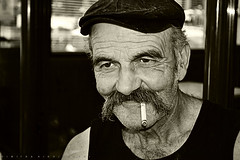Portrait of a Greek man (Love me tender ♪¸.•*´¨´¨*•.♪¸.•*´) Tags: dimitrakirgiannaki photography greece greek old man nikond3100 face people blackandwhite monochrome ταξιαρχησ ευβοια ελλαδα αντρασ ανθρωποσ πορτραιτο 2017 europe smoke cigarette smile