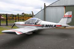G-MOLA (GH@BHD) Tags: gmola evektor evektoraerotechnik ev97 eurostar teameurostar newtownardsairfield newtownards ulsterflyingclub microlight aircraft aviation