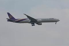 Thai Airways Boeing 777-3AL/ER (Marcellinissimo) Tags: hstko boeing 7773aler thai airways zurichairport zrh eos5d canon eos5d4