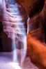 Ghost in the Machine [Explored] (JMK/Photography) Tags: antelopecanyon arizona antelope canyon redrock rockformations jmkphotography beautiful pagearizona navajo navajotriballand sandstone slotcanyon slot upperantelopecanyon landscapephotography nikond810 1635mmf4 light beam lightbeam