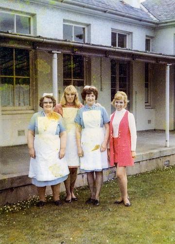 Nurses Ruchill Hospital 1960