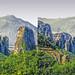 Meteora 3D / the pillars