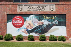 Mural at Northern Neck Bottling Company, Montross, VA (1) (Beltway Photos) Tags: westmorelandcounty virginia unitedstates cocacola montross