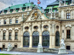 Belvedere, Vienna (mmalinov116) Tags: austria vienna belvedere palace architecture entrance art capital old австрия виена historic building baroque city castle beautiful beauty hdr facade