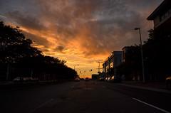 Richmond (zachclarke) Tags: richmond rva 2017 may spring nikon nikond5100 d5100 zachclarke2 zachclarke sunset orange yellow color dark street downtown urban city skyline centralvirginia altria