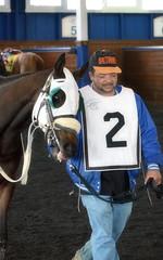 2017-04-22 (11) r1 #2 Great Smoke (JLeeFleenor) Tags: photos photography md marylandracing maryland marylandhorseracing laurelpark paddock horses thoroughbreds equine equestrian cheval cavalo cavallo cavall caballo pferd paard perd hevonen hest hestur cal kon konj beygir capall ceffyl cuddy yarraman faras alogo soos kuda uma pfeerd koin حصان кон 马 häst άλογο סוס घोड़ा 馬 koń лошадь