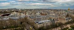View of Paris from Eiffel Tower (williamagarcia) Tags: panorama paris 2017 elliot france march vacation william susan eiffeltower viewofsacrecoeur
