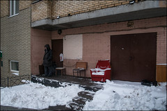 DR160302_0636D (dmitryzhkov) Tags: snow snowfall door gate step stair stairway old oldman steps porch day daylight sony alpha color colour colourful colours colorful colors colorworld colorstreet art city europe russia moscow documentary journalism street streets urban candid life streetlife citylife outdoor outdoors streetscene close scene streetshot image streetphotography candidphotography streetphoto candidphotos streetphotos moment light shadow people citizen resident inhabitant person portrait streetportrait candidportrait unposed public face faces eyes look looks man men