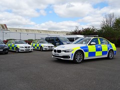 West Midlands Police BMW 330d Driver Training Unit and x2 Traffic Cars, Birmingham. (Vinnyman1) Tags: west midlands police bmw 330d ld26 bx12 khz learning developement driver training unit ops19 bx14 fod bv16 pva ops28 policing road crime closed circuit television enabled wmp birmingham city centre england uk united kingdom gb great britain emergency services rescue 999 the championship second derby avfc aston villa football club villains park bcfc blues zulu warriors youth hardcore steamers ccrew